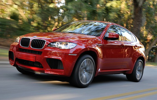 BMW X6 M,one of the 'Top 10 most expensive trucks of 2012'.