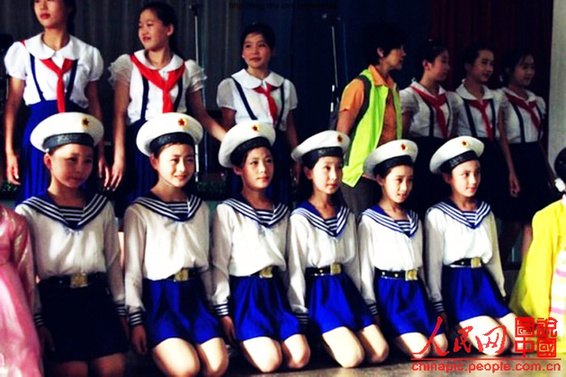 Focus on DPRK schoolgirls - China.org.cn