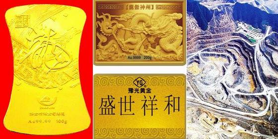 Top 10 gold-producing provinces in China