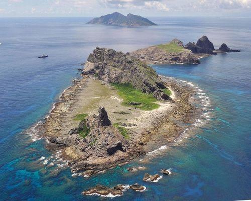 资料图:钓鱼岛 File photo: Diaoyu Dao