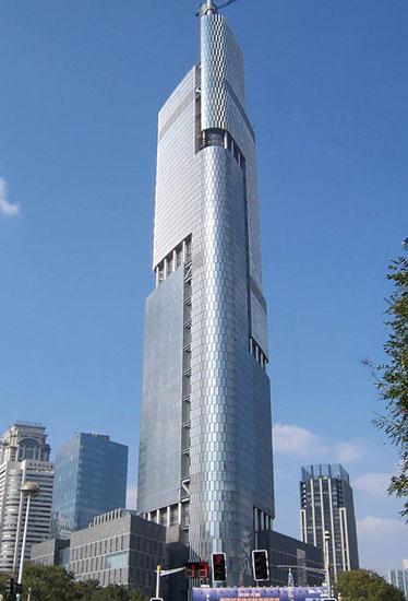Top 10 Skyscraper Cities In China 2012 China Org Cn