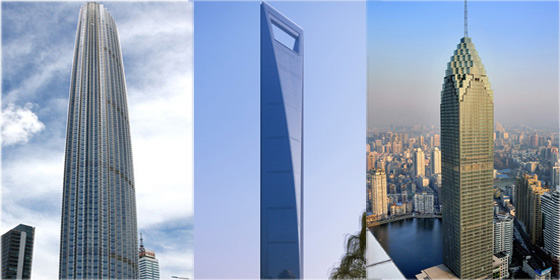 Top 10 skyscraper cities in China 2012