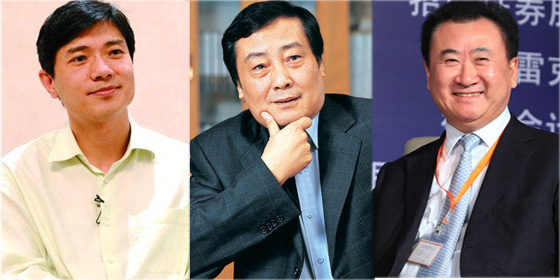 Top 10 richest people in China 2012