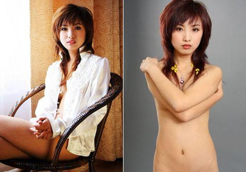 Liu Jingjing, one of the 'Top 10 nude models in China' by China.org.cn.