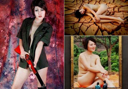 Ao Lei, one of the 'Top 10 nude models in China' by China.org.cn.