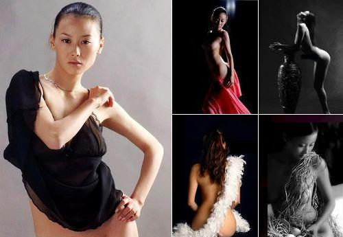 Wang Dan, one of the 'Top 10 nude models in China' by China.org.cn.