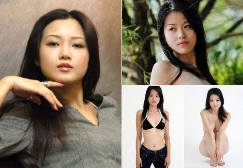 Tang Fang, one of the 'Top 10 nude models in China' by China.org.cn.
