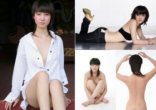 Zhang Xiaoyu, one of the 'Top 10 nude models in China' by China.org.cn.
