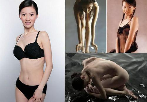 Tang Jiali, one of the 'Top 10 nude models in China' by China.org.cn.