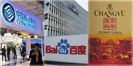 Top 10 Chinese brands