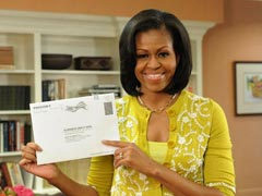 The Obamas vote early in election