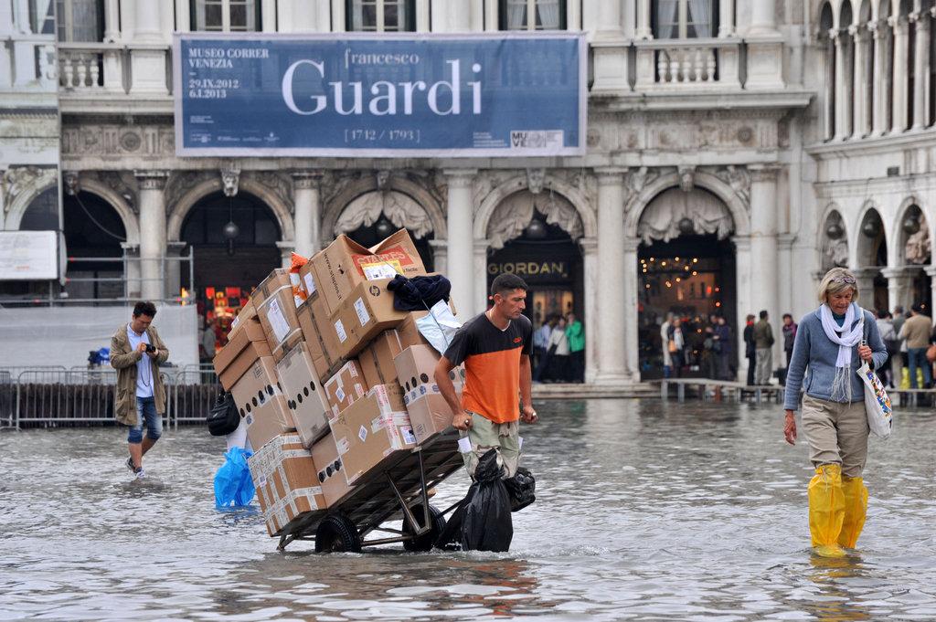 Venice Under Water - The Atlantic |Venice Flooding October 2012