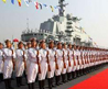 The Liaoning,China's first aircraft carrier