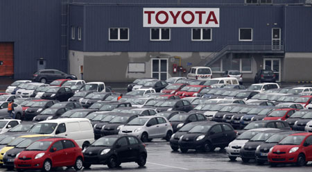 Toyota To Halt Production At Tianjin Plant
