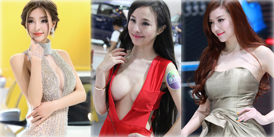 Top 10 auto show models in China