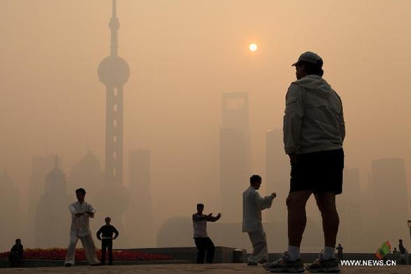 brown air pollution