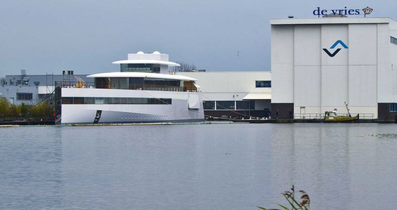 Steve Jobs Superyacht 39 Venus 39 Launched