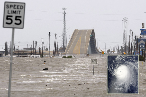 Hurricane Ike,one of the'Top 10 deadliest hurricanes in a century'by china.org.cn.