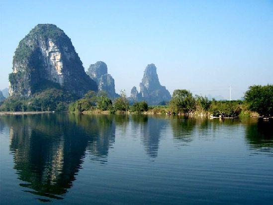 Beautiful China Scenery The beautiful scenery in