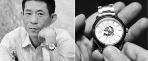 白岩松:党代表要敢于戴表 Street sweeper: 'I wear a watch to attend Party congress'