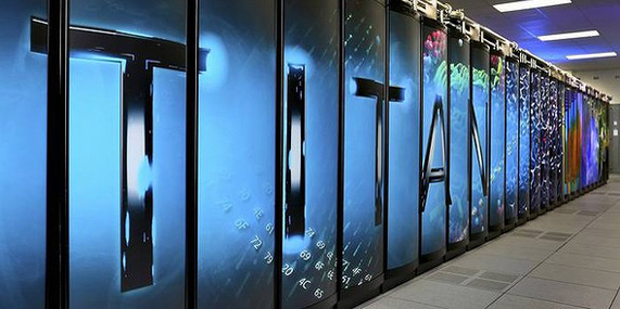 Top 10 supercomputers in the world of 2012