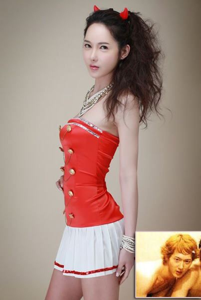 Lee Si-yeon,one of the 'Top 10 transsexual entertainers in Asia'by China.org.cn.