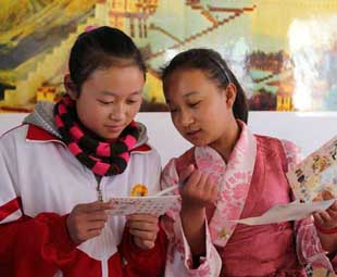 Pairings remove barriers in Tibet school