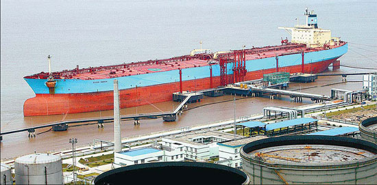 Share of imported oil to rise - China org cn