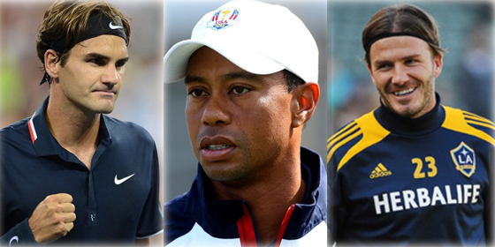 Top 10 world's most valuable athlete brands in 2012