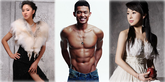 Top 10 hottest Chinese athletes of 2012