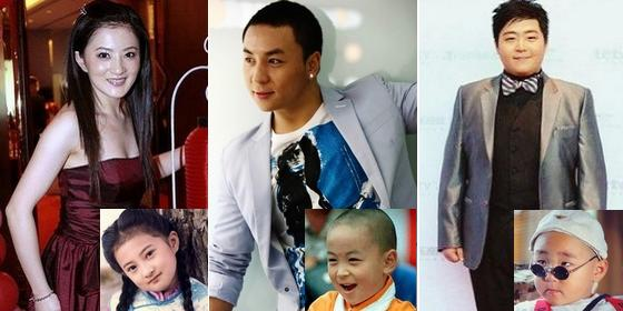 Top 10 child stars in China