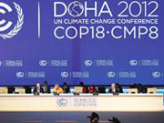 Doha climate talks end first half with no consensus