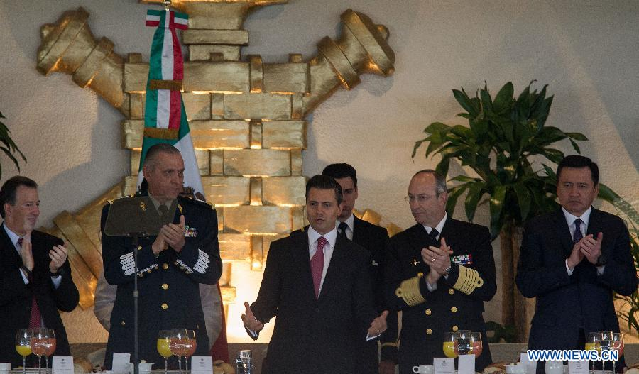 Mexican President Attends Reception Held On His Honor