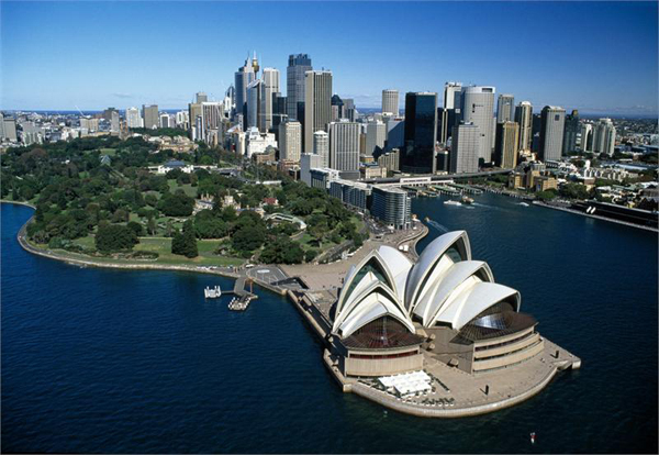 Sydney,one of the 'Top 10 most livable cities in the world of 2012'by China.org.cn.