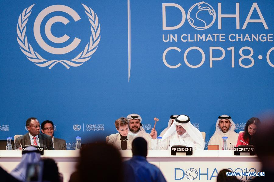 doha climate change negotiations Islamabad: climate change negotiations started in bonn with the promise to make progress on the paris agreement many of these countries did not ratify the 2012 doha commitments financing to cope with climate change would be the main point of interest for the developing and least developed.
