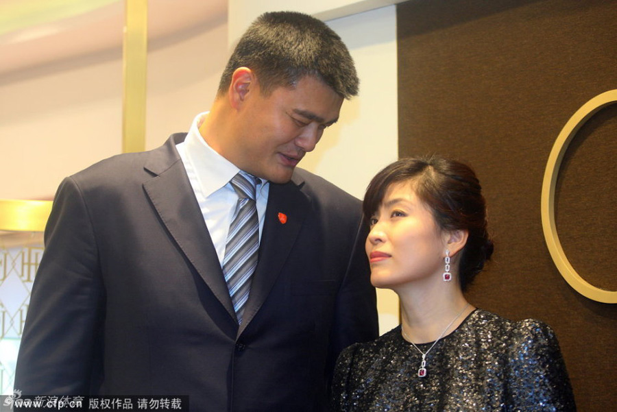 Yao Ming and wife promote Special Olympics- China.org.cn