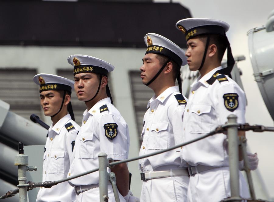 Link to Chinese navy ships visit Sydney, Australia