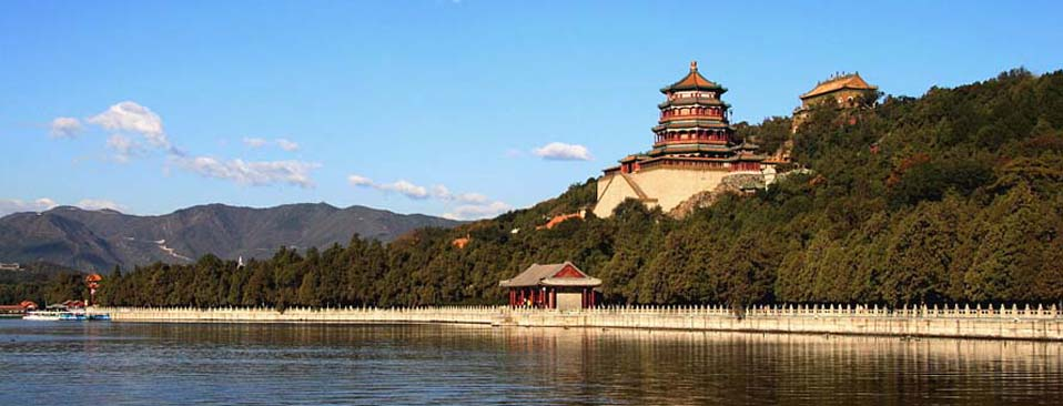 The Summer Palace in early winter