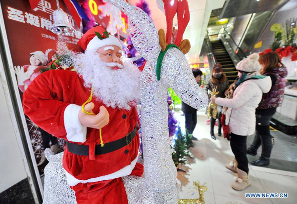 Market for christmas trees drooping this year for Christmas decoration stores near me