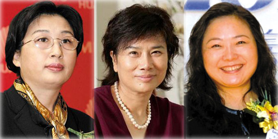 Top 25 most powerful Chinese businesswomen of 2012