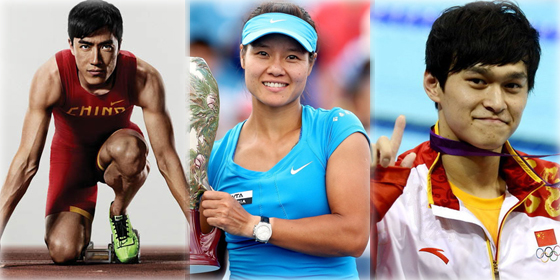 Top 10 highest-earning Chinese athletes of 2012