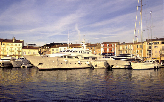 St Tropez, France, one of the 'top 10 world's most expensive real estate markets' by China.org.cn.