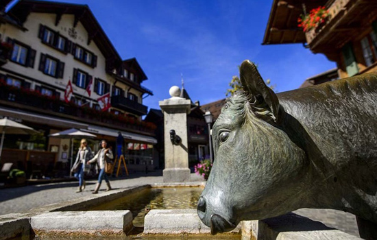 Gstaad, Switzerland, one of the 'top 10 world's most expensive real estate markets' by China.org.cn.