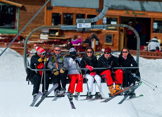 Courchevel 1850, France, one of the 'top 10 world's most expensive real estate markets' by China.org.cn.