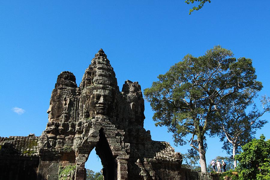 A Symbol Of Cambodia Angkor Wat China
