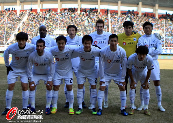 Dalian Shide were forced to apply for registration for CSL's next season.