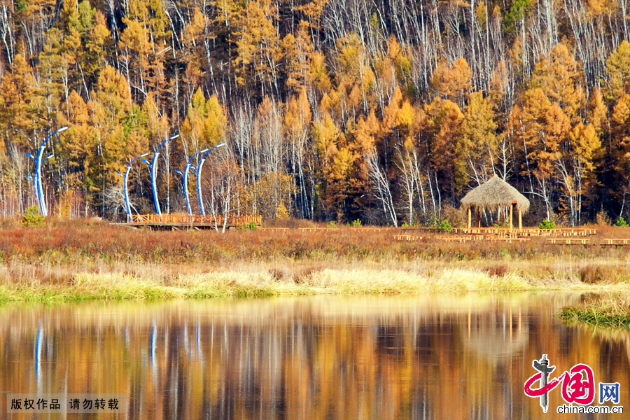 mohe_china\'s arctic village in mohe