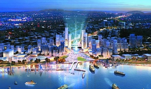 West Coast new economic zone in Qingdao