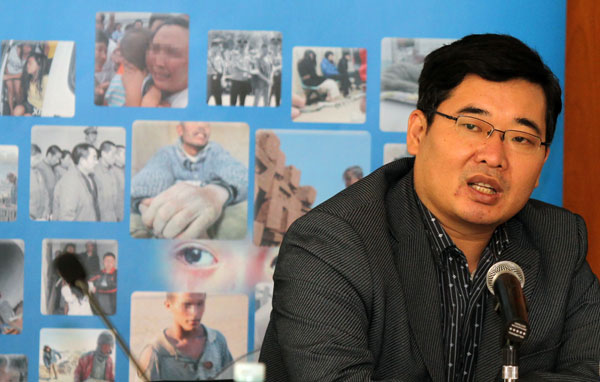 Chen Shiqu, director of the Ministry of Public Security's human traffi cking task force, says the DNA database has helped many parents find their children. [Photo/China Daily]