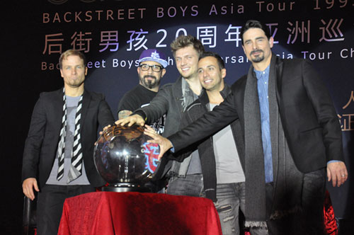Back Street Boys will start world tour in China
